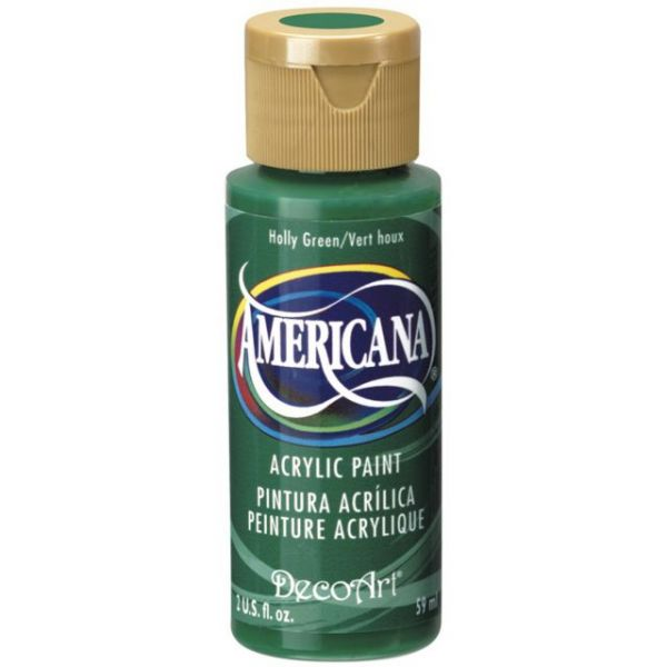 Deco Art Americana Holly Green Acrylic Paint