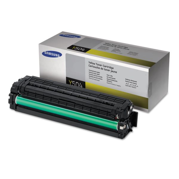 Samsung Y504 Yellow Toner Cartridge (CLTY504S)