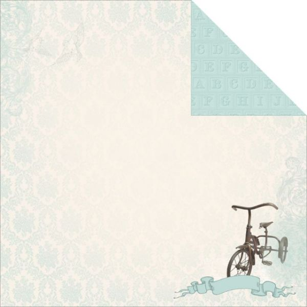 Pitter Patter Double-Sided Cardstock