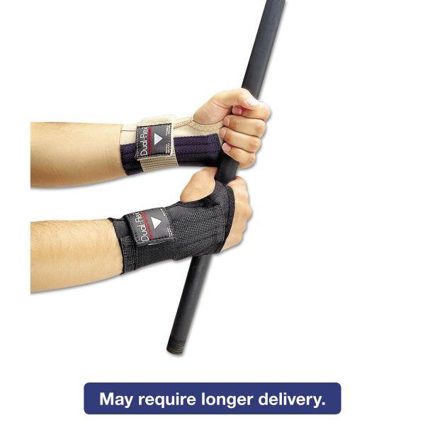 Allegro Dual-Flex Wrist Supports, Small, Nylon, Black