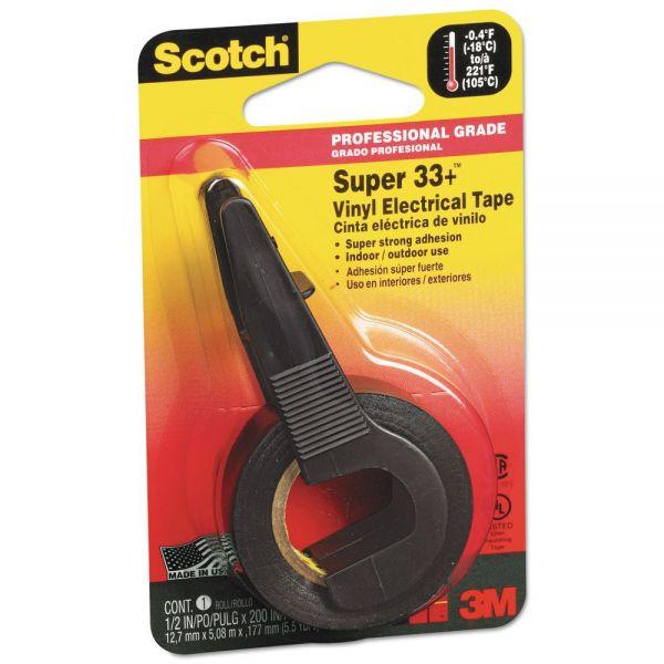 Scotch Super 33+ Electrical Tape & Dispenser