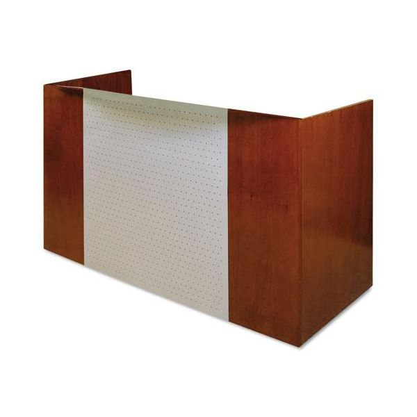 Tiffany Industries Eclipse Series Reception Desk Shell, 72w x 36d x 43-1/2h, Warm Cherry