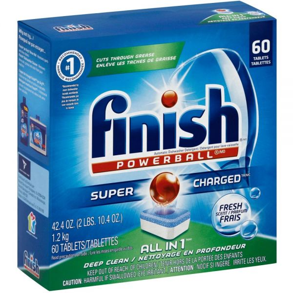 Finish All-in-1 Dishwasher Tabs