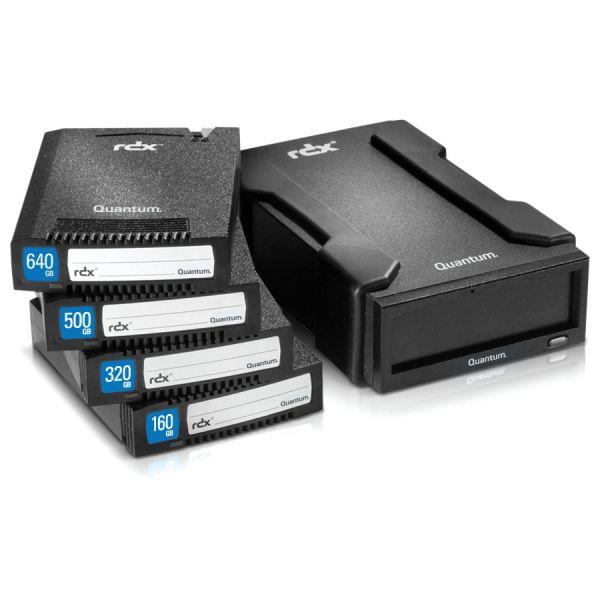 "Quantum MR050-A01A 500 GB 2.5"" RDX Technology External Hard Drive Cartridge"