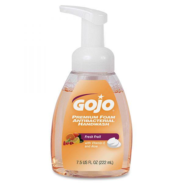 GOJO Premium Foam Antibacterial Hand Soap