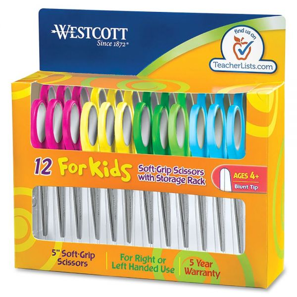 Westcott Junior Soft-Grip Scissors