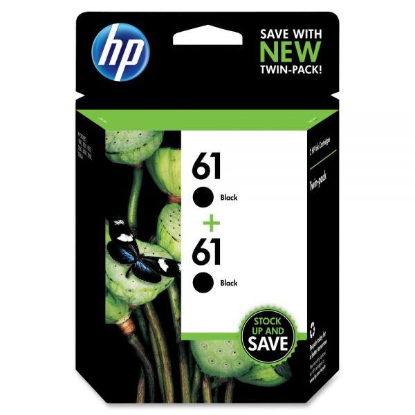 HP 61 Black Ink Cartridges (CZ073FN)