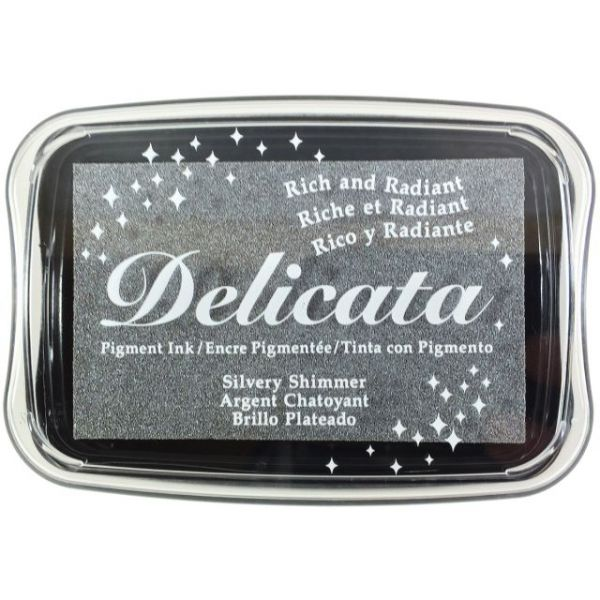 Delicata Non-Tarnishing Silver Full Size Ink Pad