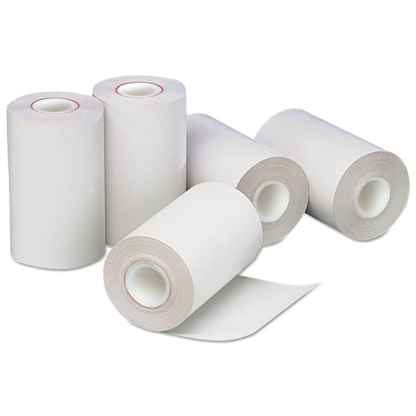 "PM Company Direct Thermal Printing Thermal Paper Rolls, 2 1/4"" x 55 ft, White, 50/Carton"