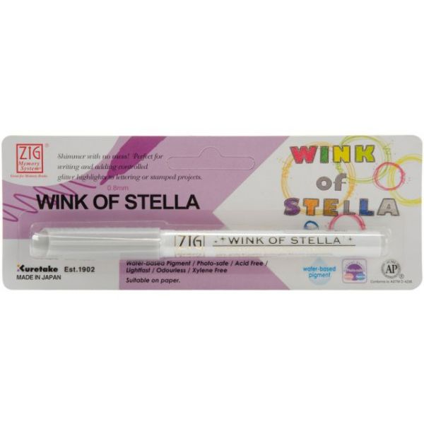 Zig Memory System Wink Of Stella Glitter Marker (Packaged)