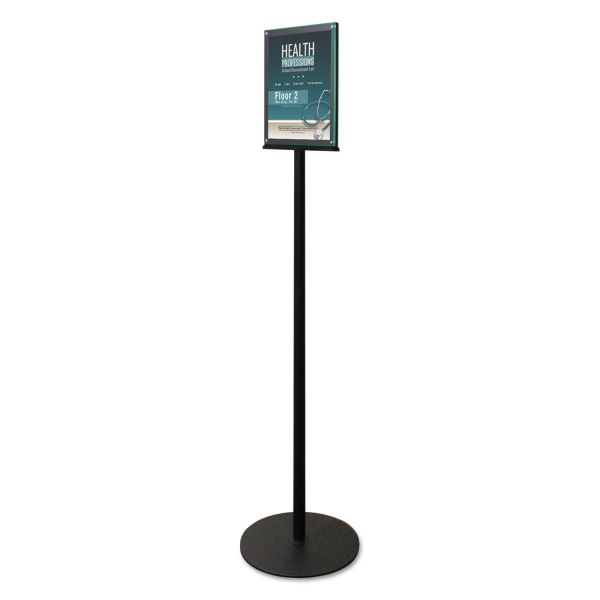 deflecto Double-Sided Magnetic Sign Stand