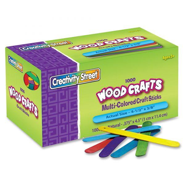 Creativity Street Colored Wood Craft Sticks