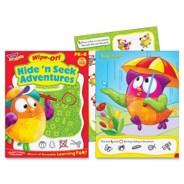 Trend Hide N Seek Adventure Owl-Stars! Book Activity Printed Book