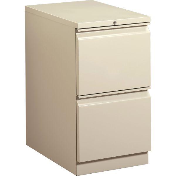 HON Brigade 2-Drawer Mobile File Cabinet