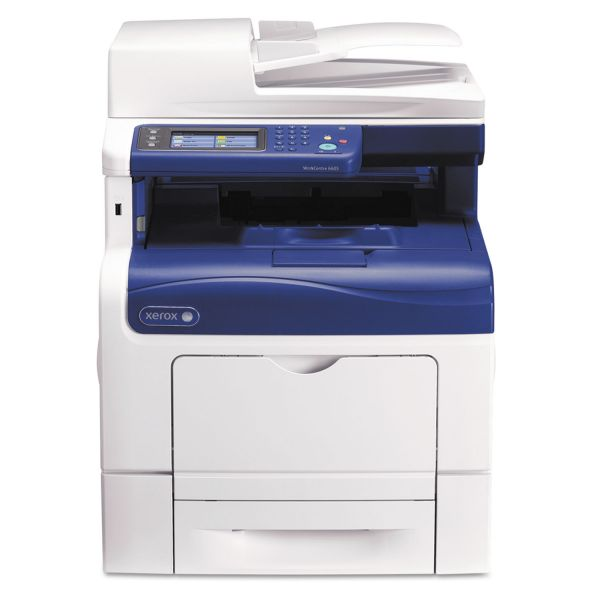 Xerox WorkCentre 6600 6605DN Laser Multifunction Printer - Color - Plain Paper Print - Desktop
