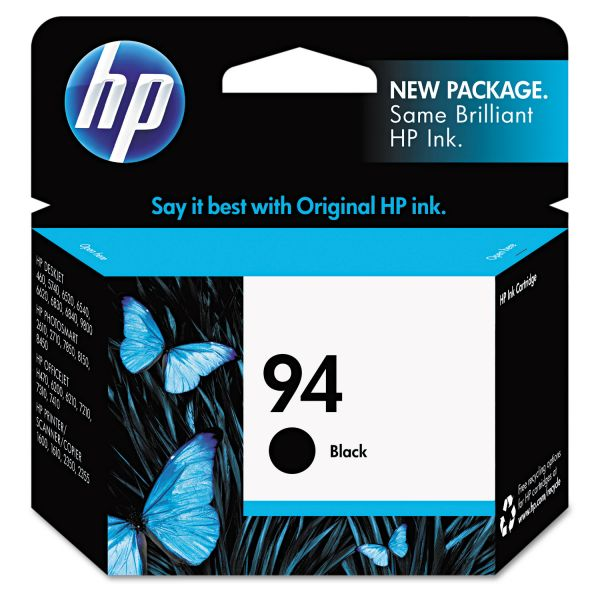 HP HP 94, (C8765WN) Black Original Ink Cartridge