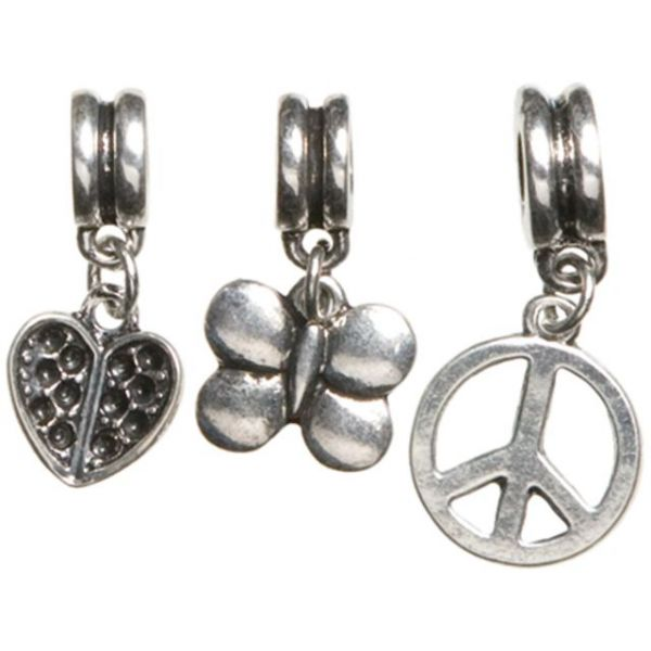 Trinkettes Metal Silver Charms