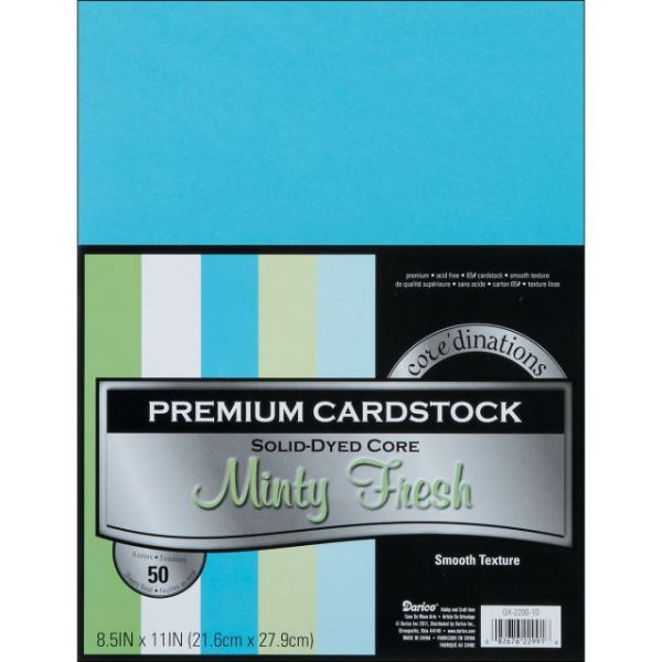 Core'dinations Premium Smooth Minty Fresh Cardstock
