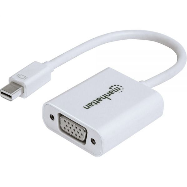 Manhattan Mini-DisplayPort to VGA Adapter
