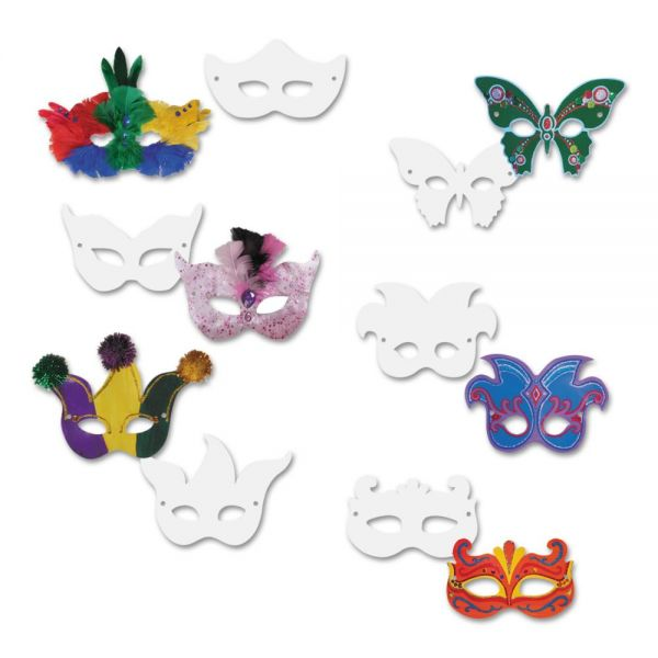 Creativity Street Die Cut Mardi Gras Masks