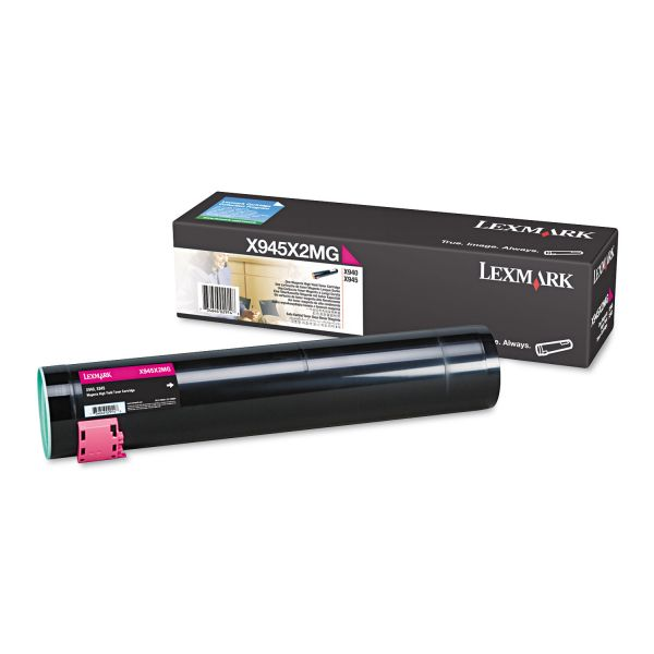 Lexmark X945X2MG Magenta High Yield Toner Cartridge