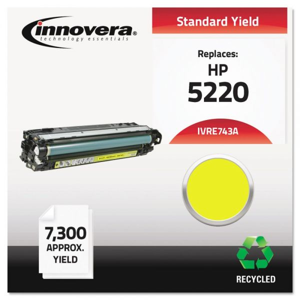 Innovera Remanufactured HP CE742A Toner Cartridge