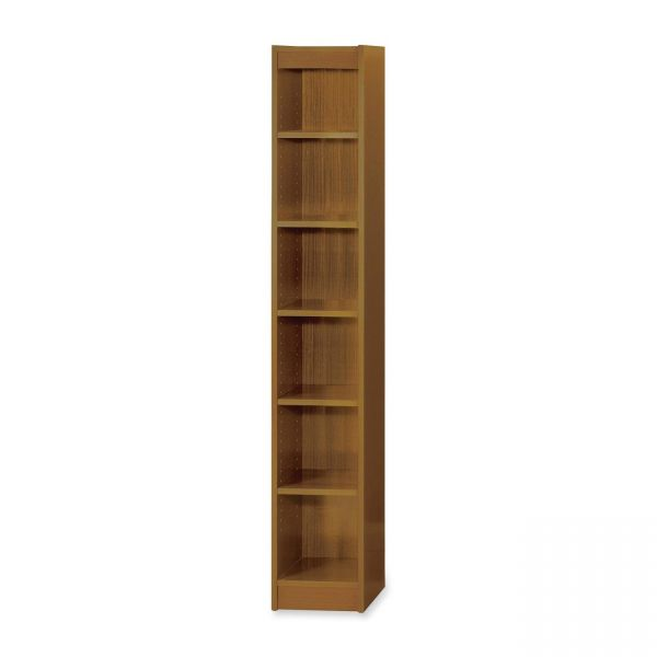 Safco Wood Veneer 6-Shelf Baby Bookcase