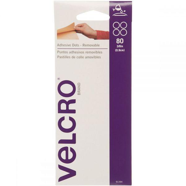 "VELCRO(R) Brand Adhesive Dots 3/8"" 80/Pkg"