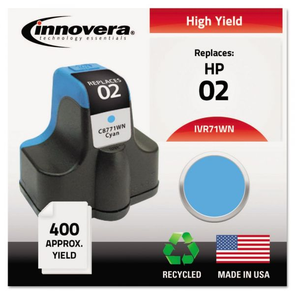 Innovera Remanufactured HP 02 High Yield Ink Cartridge