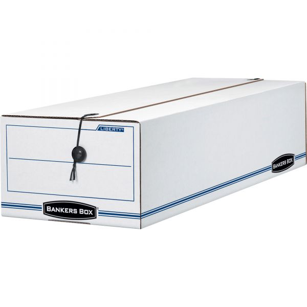 Bankers Box Liberty Check & Forms Heavy-Duty Strength Storage Boxes