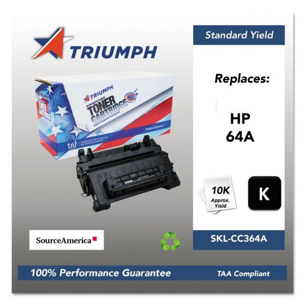 SKILCRAFT Remanufactured HP 64A Black Toner Cartridge
