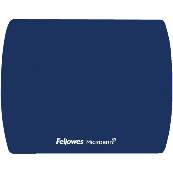 Fellowes Microban Ultra Thin Mouse Pad - Blue