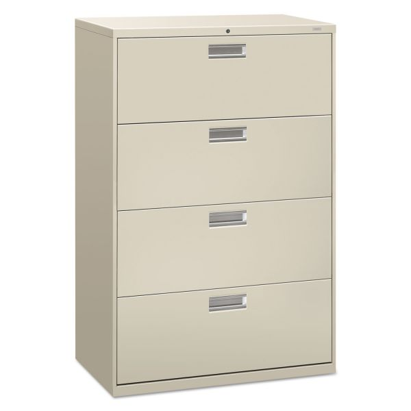 HON 600 Series 4-Drawer Lateral File Cabinet
