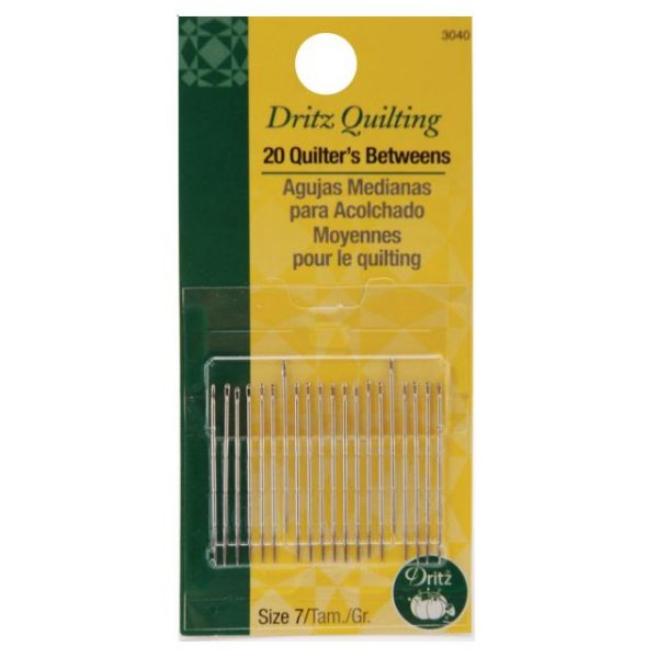 Dritz Quilting Quilter's Betweens Needles