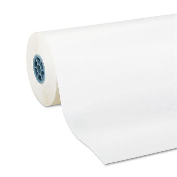 "Pacon Kraft Paper Roll, 40 lbs., 24"" x 1000 ft, White"