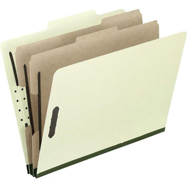 Pendaflex 2-Divider PressGuard Classification Folders