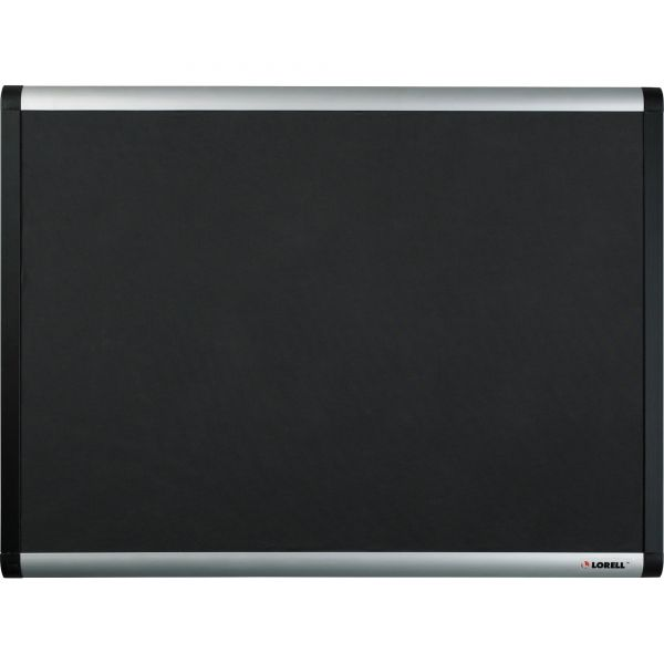 Lorell Black Mesh Fabric Covered Bulletin Boards