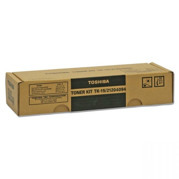 Toshiba TK-15 Black Toner Cartridge