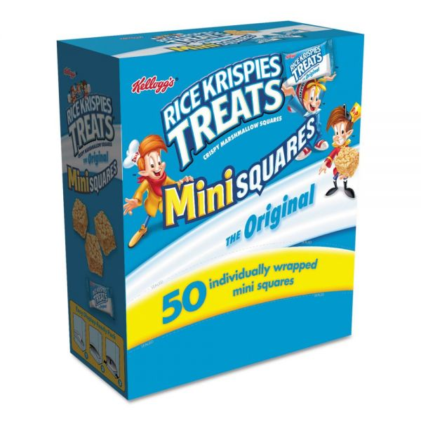 Kellogg's Mini Squares Rice Krispies Treats