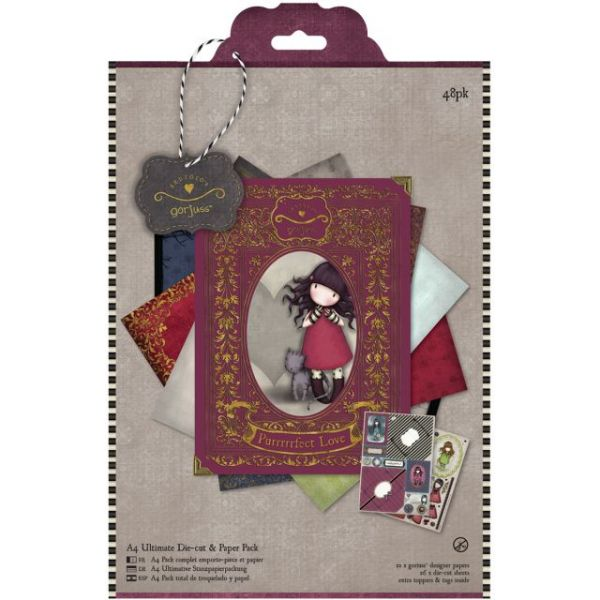 Simply Gorjuss Ultimate Die-Cut & Paper Pack A4 48/Sheets