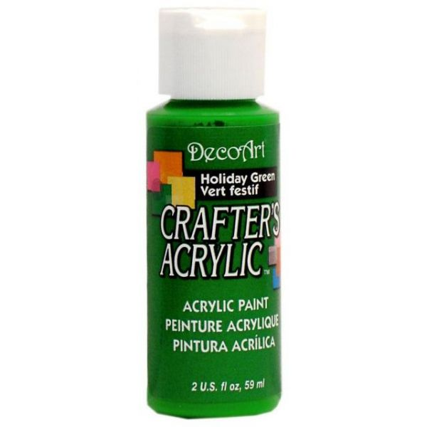 Deco Art Holiday Green Crafter's Acrylic Paint