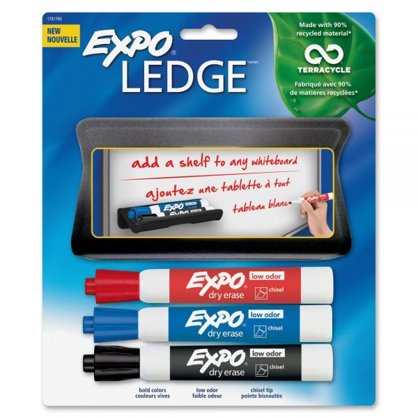 EXPO Mountable Whiteboard Ledge Set
