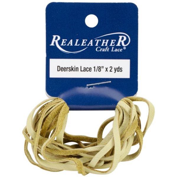 "Deerskin Lace .125""X2yd Packaged"