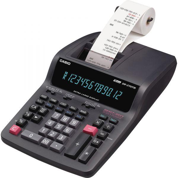 Casio DR-270TM Desktop Printing Calculator