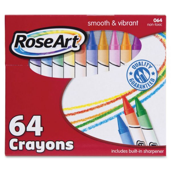 RoseArt 64 Crayons