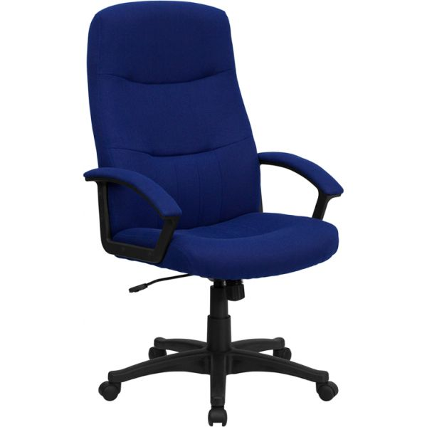 Flash Furniture High Back Executive Swivel Office Chair [BT-134A-NVY-GG]