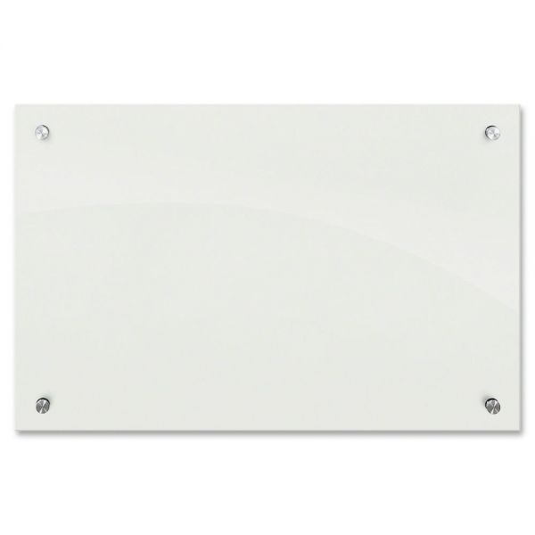 Best-Rite Enlighten 3' x 2' Glass Dry Erase Board