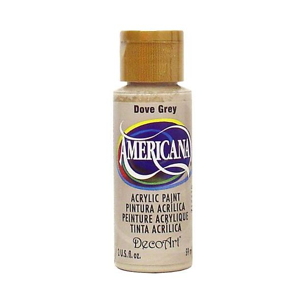 Deco Art Americana Dove Grey Acrylic Paint
