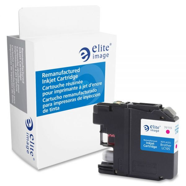 Elite Image Remanufactured Brother LC105M Ink Cartridge