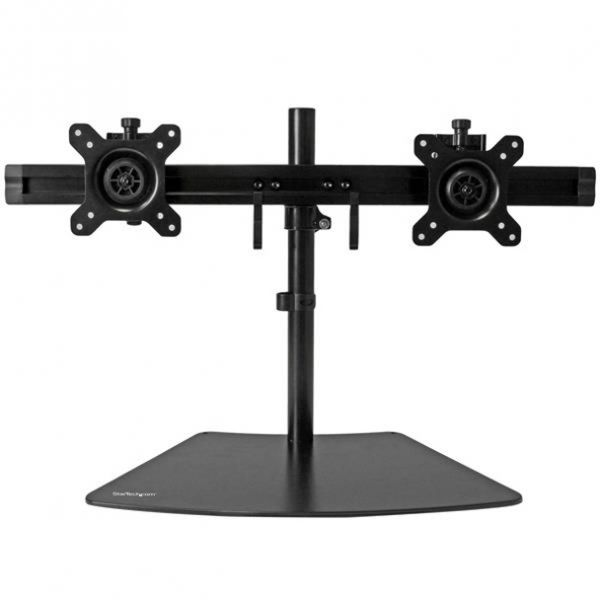 """StarTech.com Dual Monitor Stand - Monitor Mount for Two LCD or LED Displays up to 24"""""""